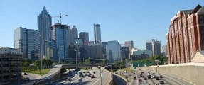 Atlanta from North Avenue Bridge